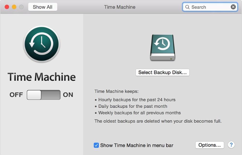 Η ενεργοποίηση αυτόματων backups μπορεί να είναι πια υπόθεση ενός μόνο διακόπτη.