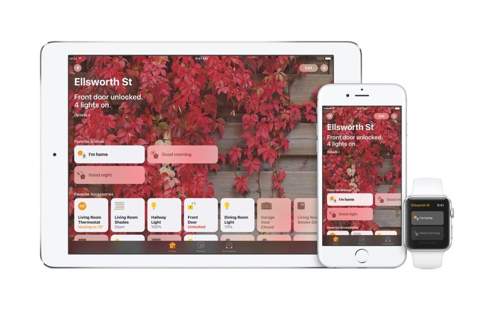 """Με κανονική εφαρμογή Home, μπορείς να ελέγχεις κεντρικά τις συμβατές οικιακές συσκευές που τα """"λένε"""" με το IoT."""