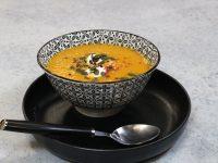 Σούπα με κολοκύθα και γλυκοπατάτα