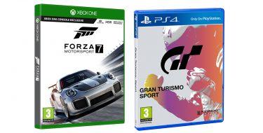 Gran Turismo Sport και Forza Motorsport 7