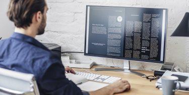 Πώς να κάθεσαι σωστά μπροστά από τον υπολογιστή σου