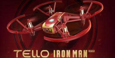 Η DJI λανσάρει το εντυπωσιακό Tello Iron Man Edition drone!