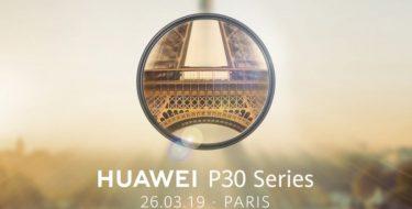 Έρχονται τα Huawei P30 & P30 Pro!