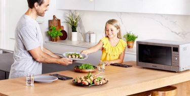 Φούρνοι μικροκυμάτων με τεχνολογία inverter