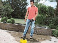 Καθάρισε εύκολα και γρήγορα τη βεράντα και τον κήπο με ένα πλυστικό μηχάνημα