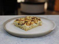 Μακαρονόπιτα με μανιτάρια