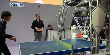 CES 2018: Forpheus, το ρομπότ που διδάσκει πινγκ-πονγκ