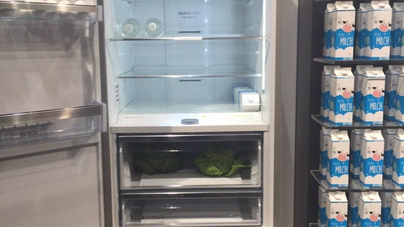 Το μοναδικό ψυγείο Bosch με βάθος 80cm που έχει μεγαλύτερη χωρητικότητα, κατά 171 λίτρα!