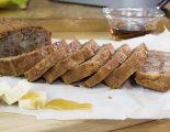 Κέικ με μπανάνα και αχλάδι – Γιώργος Τσούλης – Chef στην Πρίζα