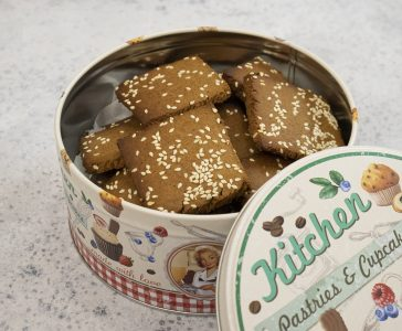 Εύκολα μπισκότα με πετιμέζι και ούζο