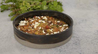 Κριθαράκι με ντομάτα – Κουζίνα: Μαζί με τον Ανδρέα και την Ελένη