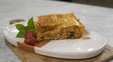 Μπακλαβάς με ντομάτα – Κουζίνα: Μαζί με τον Ανδρέα και την Ελένη