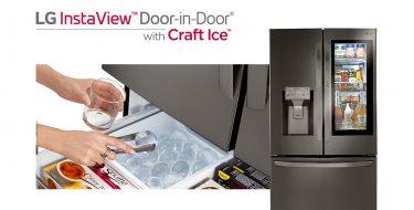 CES 2020: Η LG φέρνει το μέλλον στην κουζίνα με το νέο ψυγείο LG Instaview