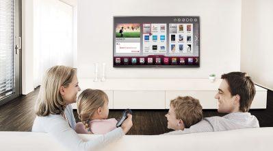Η Smart TV στο κέντρο του σπιτιού σου
