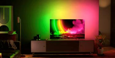 Premium τηλεόραση Philips 4K UHD OLED 806/12