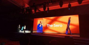CES 2020: H Samsung Sero είναι η τηλεόραση της mobile εποχής