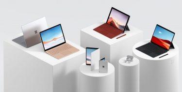 Η Microsoft παρουσίασε τη νέα οικογένεια υπολογιστών Surface