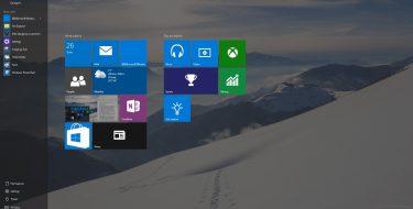 Windows 10 | Tablet Mode