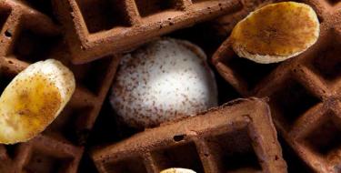 Ελάτε σπίτι μας για… βελγικές σοκολατένιες βάφλες!