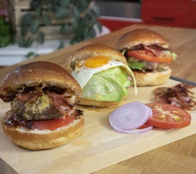 Μοσχαρίσια Burgers – Γιώργος Τσούλης – Chef στην Πρίζα
