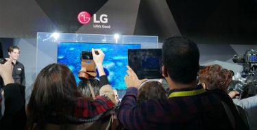 CES 2017: LG Signature OLED 4K W – Κορυφαία τηλεόραση με πάχος μόλις 2,57 χιλιοστών