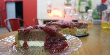 Cheesecake Τριπλής Σοκολάτας – Γιώργος Τσούλης – Chef στην Πρίζα