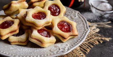 Χριστουγεννιάτικα γεμιστά μπισκότα