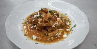 Γαρίδες σαγανάκι – Κουζίνα: Ιστορίες με τον Ανδρέα Λαγό
