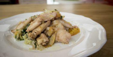 Καλαμαράκια Sous Vide με σαλάτα κινόα – Γιώργος Τσούλης – Chef στην Πρίζα