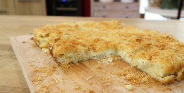 Κασερόπιτα με φύλλο κανταΐφι – Γιώργος Τσούλης – Chef στην Πρίζα