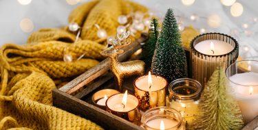 Ζεστή κι ευχάριστη ατμόσφαιρα στο σπίτι το χειμώνα