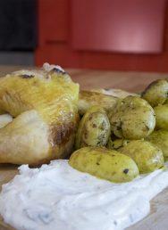 Κοτόπουλο με baby πατάτες στο φούρνο – Γιώργος Τσούλης – Chef στην Πρίζα