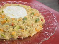 Κριθαρότο με Λαχανικά – Γιώργος Τσούλης – Chef στην Πρίζα