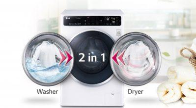 Περισσότερος χρόνος για εσένα με τα νέα πλυντήρια-στεγνωτήρια ρούχων της LG