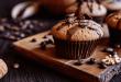 Μάφινς με καφέ καρύδια και σοκολάτα