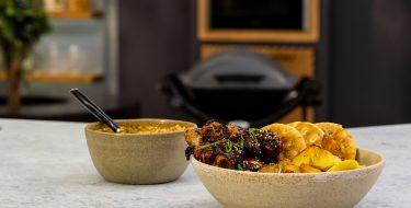 Μαριναρισμένα μπουτάκια κοτόπουλο με πατάτες – Κουζίνα: Μαζί με τον Ανδρέα και την Ελένη