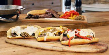 Philly Cheesesteak Sandwich – Γιώργος Τσούλης – Chef στην Πρίζα