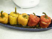 Γεμιστές πιπεριές – Κουζίνα: Μαζί με τον Ανδρέα και την Ελένη