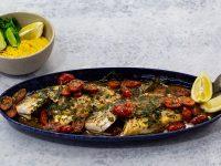 Τσιπούρα με φάβα – Κουζίνα: Μαζί με τον Ανδρέα και την Ελένη