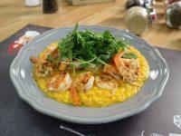 Ριζότο Σαφράν με Γαρίδες – Γιώργος Τσούλης – Chef στην Πρίζα
