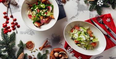 Ιδέες και ξεχωριστοί συνδυασμοί για γιορτινές σαλάτες