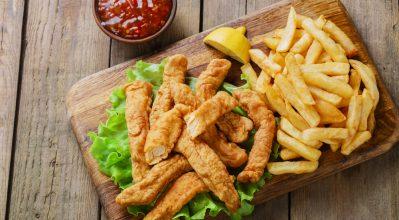 Απόλαυσε υγιεινά chicken fingers με την Actifry Express!
