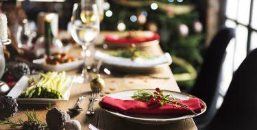 Ιδέες διακόσμησης για το Xριστουγεννιάτικο τραπέζι