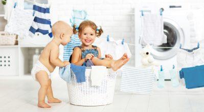 Tips για την καλύτερη φροντίδα των παιδικών ρούχων