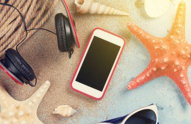 Μέτρα προστασίας των ηλεκτρονικών συσκευών στην παραλία