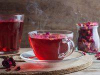 Πράσινο τσάι με τριαντάφυλλο και κανέλα
