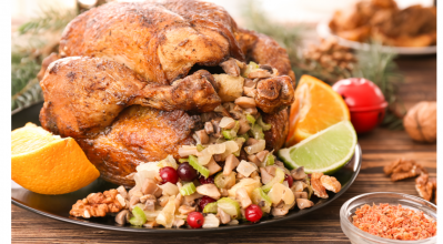 Γεμιστή γαλοπούλα άρμης: 3 γιορτινές παραλλαγές