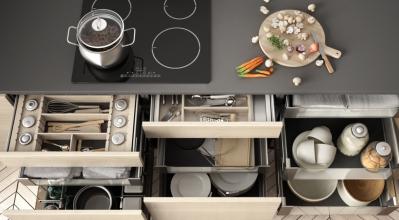 """Οι 10 """"χρυσοί"""" κανόνες για να οργανώσεις την κουζίνα σου!"""
