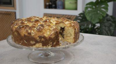Τσουρέκι γεμιστό με σοκολάτα bitter – Κουζίνα: Ιστορίες με τον Ανδρέα Λαγό